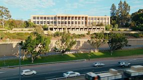 Time lapse of the Mitchell Freeway in front of Parliament House in Perth, Western Australia.