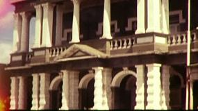 8mm film footage of downtown Charters Towers, in Aueensland, Australia, in May 1983. Includes the Australian Bank of Commerce, CWA hall, the Stock Exchange and more.