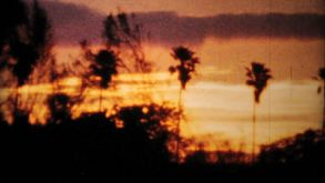 Gorgeous Sunset Sequence-1964 Vintage 8mm Film