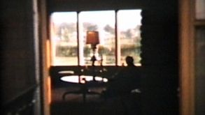 Living Room Silhouette (1960 Vintage 8mm Film)