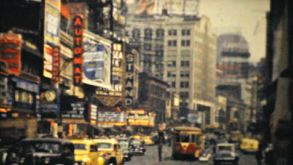 Strand Theatre On Broadway In New York City-1940 Vintage 8mm Film