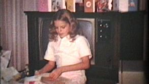 Ten Year Old Girl With Gifts (1975 Vintage 8mm Film)