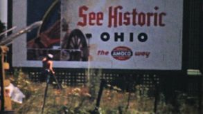Visiting Historic Cleveland Ohio-1940 Vintage 8mm Film