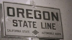 Visiting Oregon On Driving Trip-1940 Vintage 8mm Film