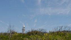 Time lapse of passing clouds above the Cape Naturaliste lighthouse, in the Leeuwin-Naturaliste National Park, in the south west of Western Australia.