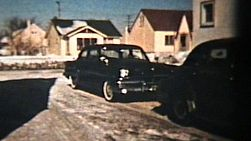 A cool clip of some classic vintage cars of the 50's.