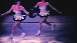 Various scenes from an indoor Ice Follies Show in Philadelphia, Pennsylvania in 1962.