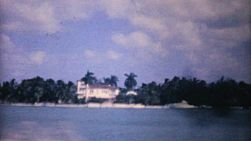 A shot of the beautiful Florida Hotel with the ocean, beach and coast line in the background in 1961.