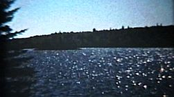 Some classic clips of a cabin, the lake, speed boat and some fish from summer holidays.