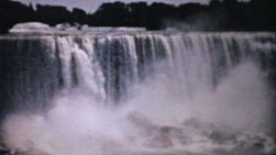 A beautiful collection of clips showcasing the majestic Niagara Falls in the summer of 1940.
