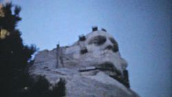 An amazing collection of clips showing Mount Rushmore being built in 1940.