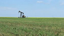 A faithful oil pump works tirelessly on the Canadian prairies.