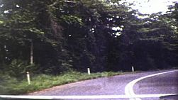 Vintage 8mm film footage of various road scenes on the Rex Highway near Herberton, Queensland, Australia in 1983.