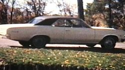 Driving the old 1966 Chevy Malibu Super Sport out to the country to visit the donkeys. (1967 - Vintage 8mm footage)