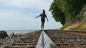 Railroad Track Stock Footage - Fusion Footage