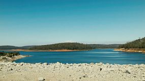 Looking from Serpentine Dam, near Perth, Western Australia.