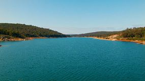 View across Lake C.Y. O'Connor (previously known as Helena River Reservoir) near Perth Western Australia, as seen from Mundaring Weir.