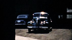 Visiting the Pontiac Motor Vehicle plant in Detroit, Michigan and seeing their new cars in 1940.