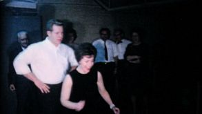 Attractive Couple Showing Off On The Dance Floor-1962 Vintage 8mm Film