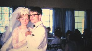 Bride And Groom Enjoy First Dance Together-1966 Vintage 8mm Film