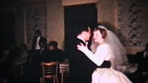Bride And Groom First Dance (1960 Vintage)