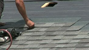 Laying Shingles On A Roof