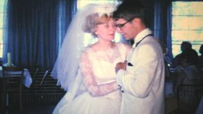 Newlywed Couple Enjoying First Dance-1966 Vintage 8mm Film